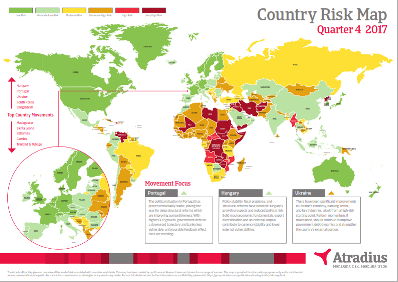 Risk Map Q4 - 2018