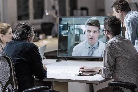 Video conference with buyer